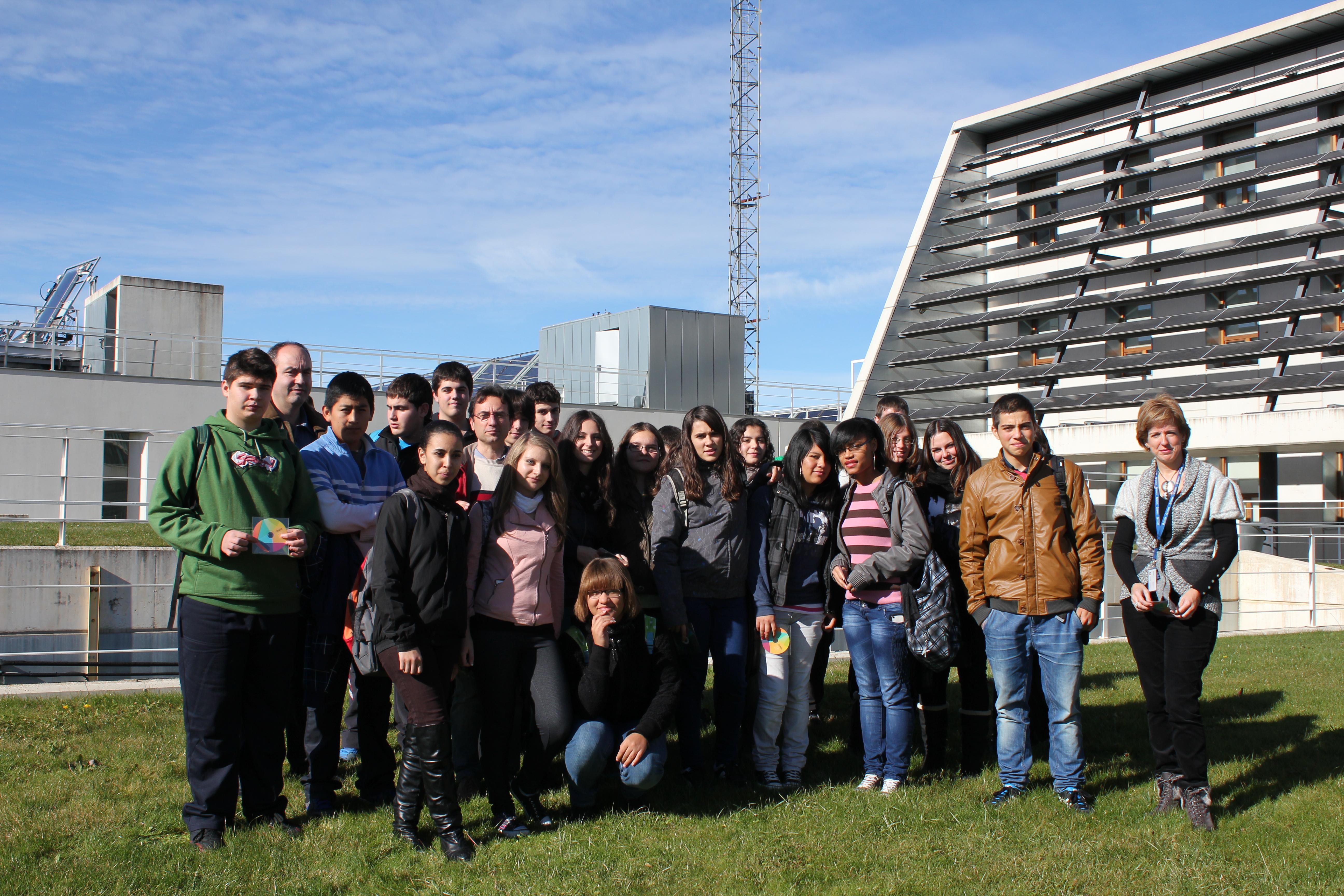 Jornada de Puertas Abiertas (sesión de mañana). Semanas de la Ciencia 2012.