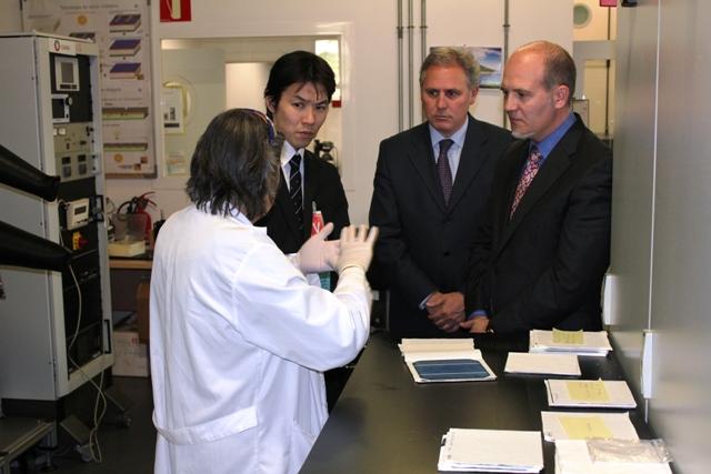 Visita del Director adjunto de Medio Ambiente del Gobierno de Tokio, Shoji Kobayashi