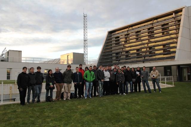 Jornada de Puertas Abiertas (sesión de tarde). Semanas de la Ciencia 2012.