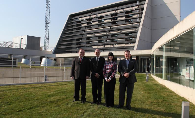 Visita de una delegación institucional de la región de Lodz (Polonia).