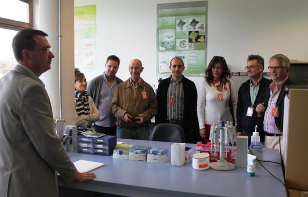Visita de una delegación institucional de Macedonia Occidental (Grecia), como parte del proyecto Bioclus.