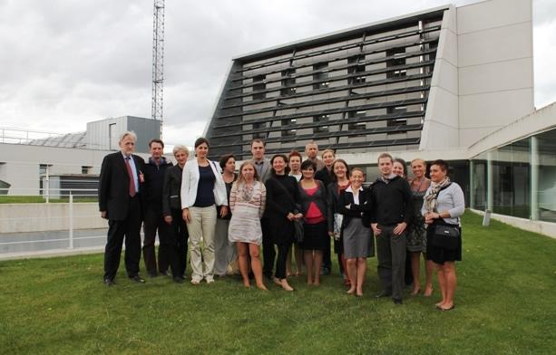 Visita de una delegación institucional de Baja Silesia (Polonia) a CENER.