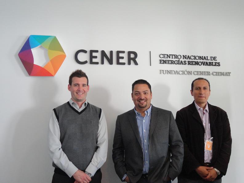Visita de representantes de la Universidad Politécnica de Chiapas (México).