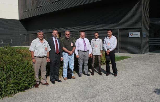 Visita de técnicos de energía jordanos a CENER.