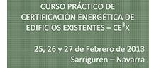 Curso práctico de certificación energética de edificios existentes-CE3X