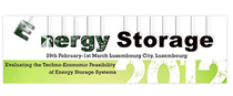 Energy Storage, Luxembourg, February 29th- March 1st 2012