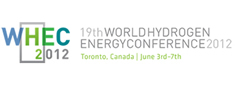 19th Worldhydrogen Energy Conference, Toronto, June 3rd-7th