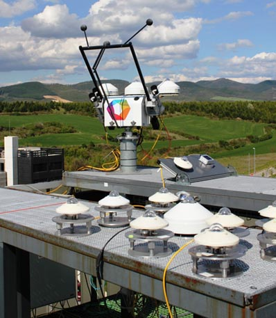 BSRN e instalación de calibración de piranómetros y pirheliómetros en CENER