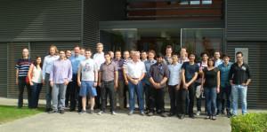 Visita de los participantes de la reunión del proyecto MEXNEXT 2 de la Agencia Internacional de la Energía