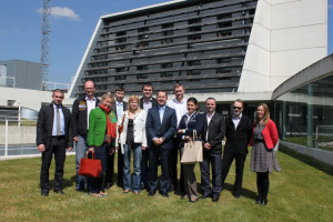 Visita del Ministerio de Economía y de la Agencia de Eficiencia Energética de Moldavia