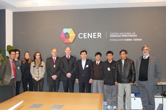 Visita de directivos de la empresa eléctrica vietnamita EVN-SPC.