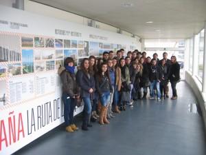 Visita de estudiantes de Foro Europeo, Escuela de Negocios de Navarra