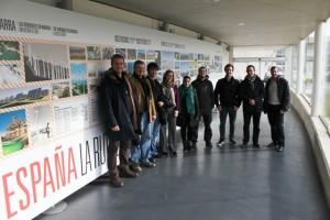 Visita de alumnos del Curso de Energía y Competividad organizado por Orkestra.