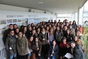 Visita de estudiantes de Bioquímica y Biología de la Universidad de Navarra