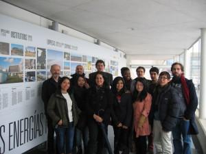 Alumnos del Máster en Diseño y Gestión Ambiental de Edificios (MDGAE) de la Universidad de Navarra