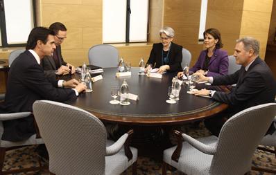 El DG de CENER acompaña a la Presidenta de Navarra en una reunión con el Ministro Soria para hablar de energías renovables