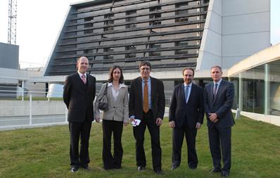 El Embajador de Israel visita CENER