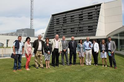 La Comisión de Desarrollo Rural, Industria, Empleo y Medio Ambiente del Parlamento de Navarra visita CENER