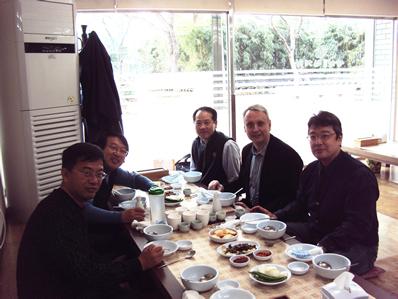 Manuel Blanco participa como experto en unas jornadas en Corea