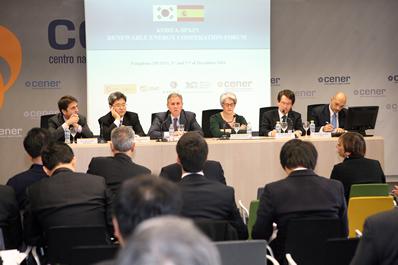 CENER acoge el primer encuentro de energía España-Corea