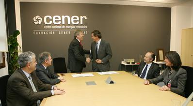 CENER y la Fundación José Manuel Entrecanales firman un acuerdo de colaboración
