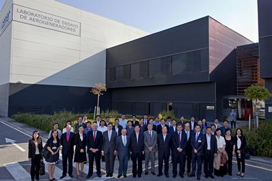 Autoridades energéticas chinas visitan CENER