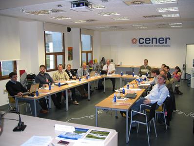CENER acoge una reunión técnica de la Agencia Internacional de la Energía