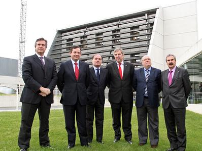 Consejeros de Industria e Innovación de seis comunidades autónomas se reúnen en CENER