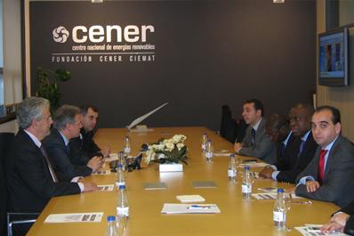 El Diresecretario de Estado de Energía de Angola visita CENER