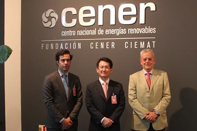 El Embajador de Corea del Sur, en CENER