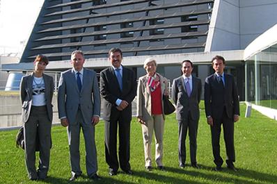 El Embajador de Italia visita CENER