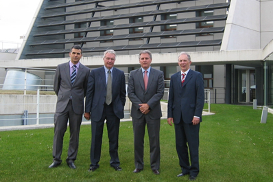 El Embajador de Suiza visita CENER