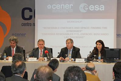 Jornada sobre el espacio y las energías renovables