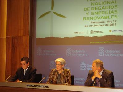 Pamplona acoge el I Congreso Nacional sobre Regadíos y Energías Renovables que se celebrará los días 16 y 17 de noviembre