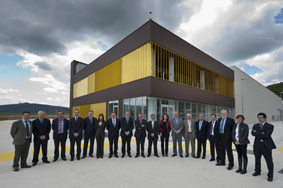 El patronato de la fundación CENER-Ciemat se reúne en el nuevo centro de biocombustibles