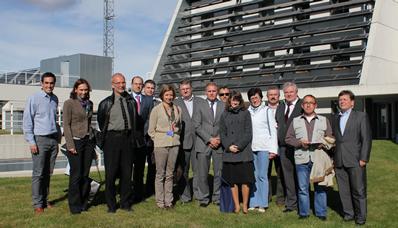 El proyecto BIOCLUS reúne en CENER a representantes institucionales y técnicos internacionales