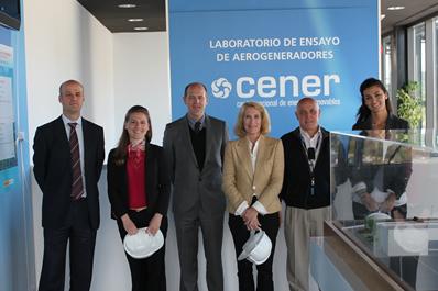 Representantes de AWEA visitan CENER