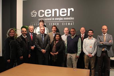 Representantes de instituciones eléctricas de EEUU  visitan CENER