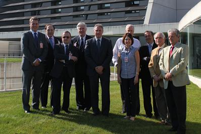 Representantes de instituciones USA visitan CENER