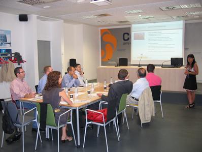 Reunión de la Agencia Internacional de la Energía en CENER
