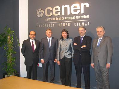 La nueva Presidenta de Acciona Energía visita CENER