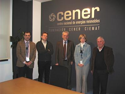El Presidente de la Cámara Española de Comercio en México visita CENER
