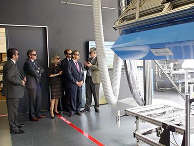El secretario de estado de investigación visita CENER