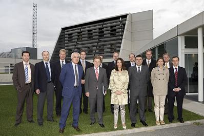 El Ministro de Economía de Finlandia visita Cener
