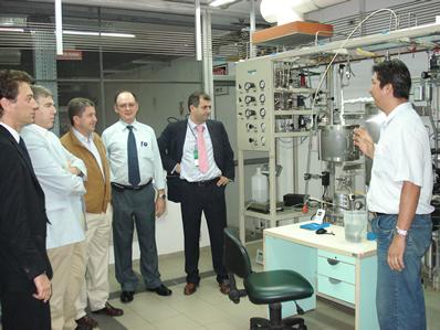 Directivos de CENER visitan CTGAS acompañados por el Vcpdte. y el Consejero de Innovación del Gobierno de Navarra