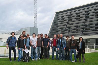 Grupo de estudiantes de la universidad de Exeter visitan CENER