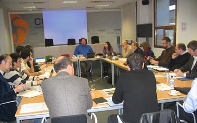 El comité de normalización internacional IEC  se reúne en CENER