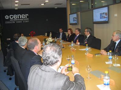 Visita de representantes institucionales de Turquía