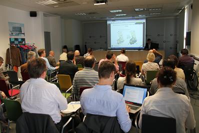 Reunión internacional del proyecto BIOCLUS en CENER