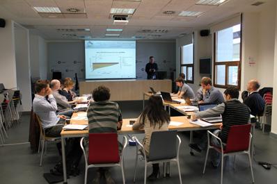 Reunión de los socios del proyecto stoRE en CENER el año pasado